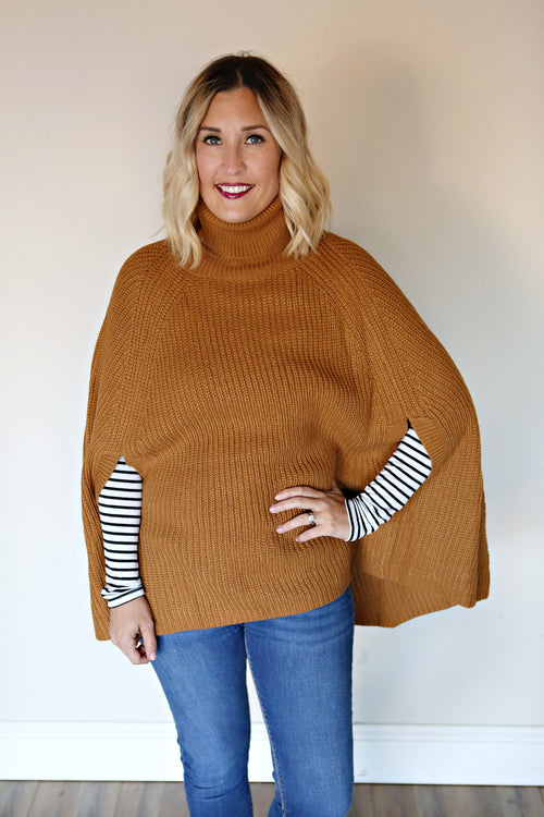 Lorrie Cape Sweater