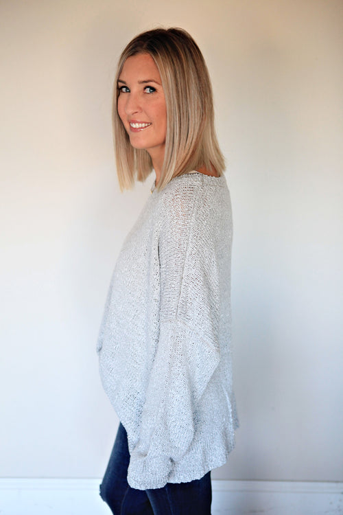 Kamryn Sweater - Gray Monroe