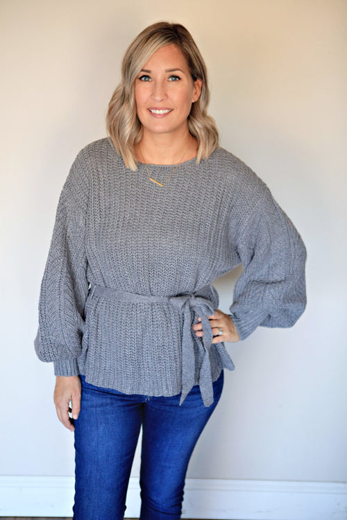 Liz Sweater - Gray Monroe