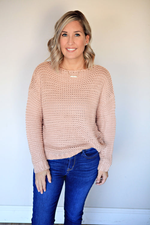 Reese Sweater - Gray Monroe