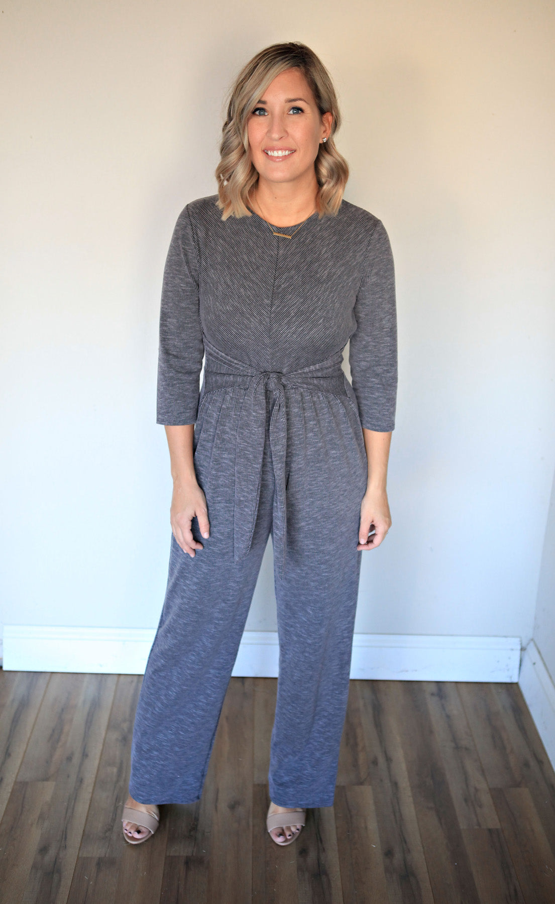 Nina Jumpsuit - FINAL SALE - Gray Monroe