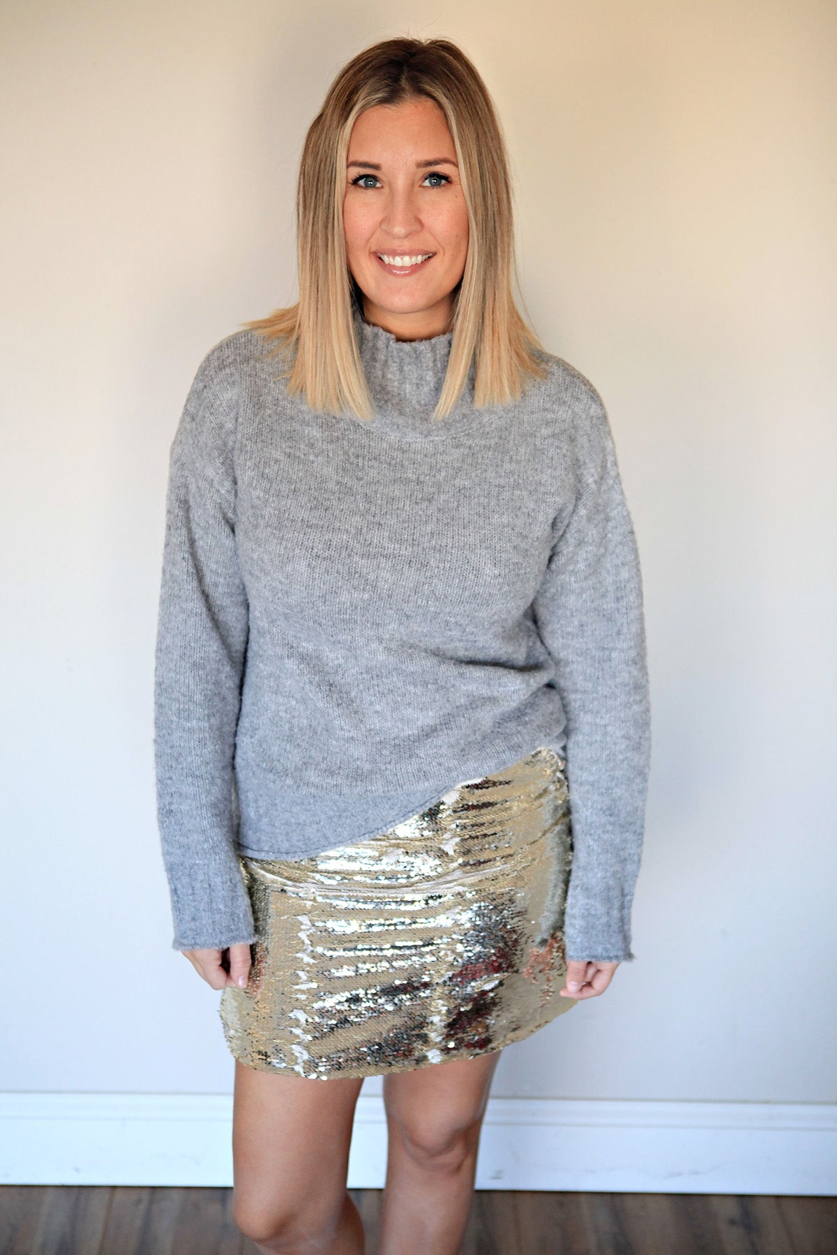 Shannon Flip Sequin Skirt - FINAL SALE