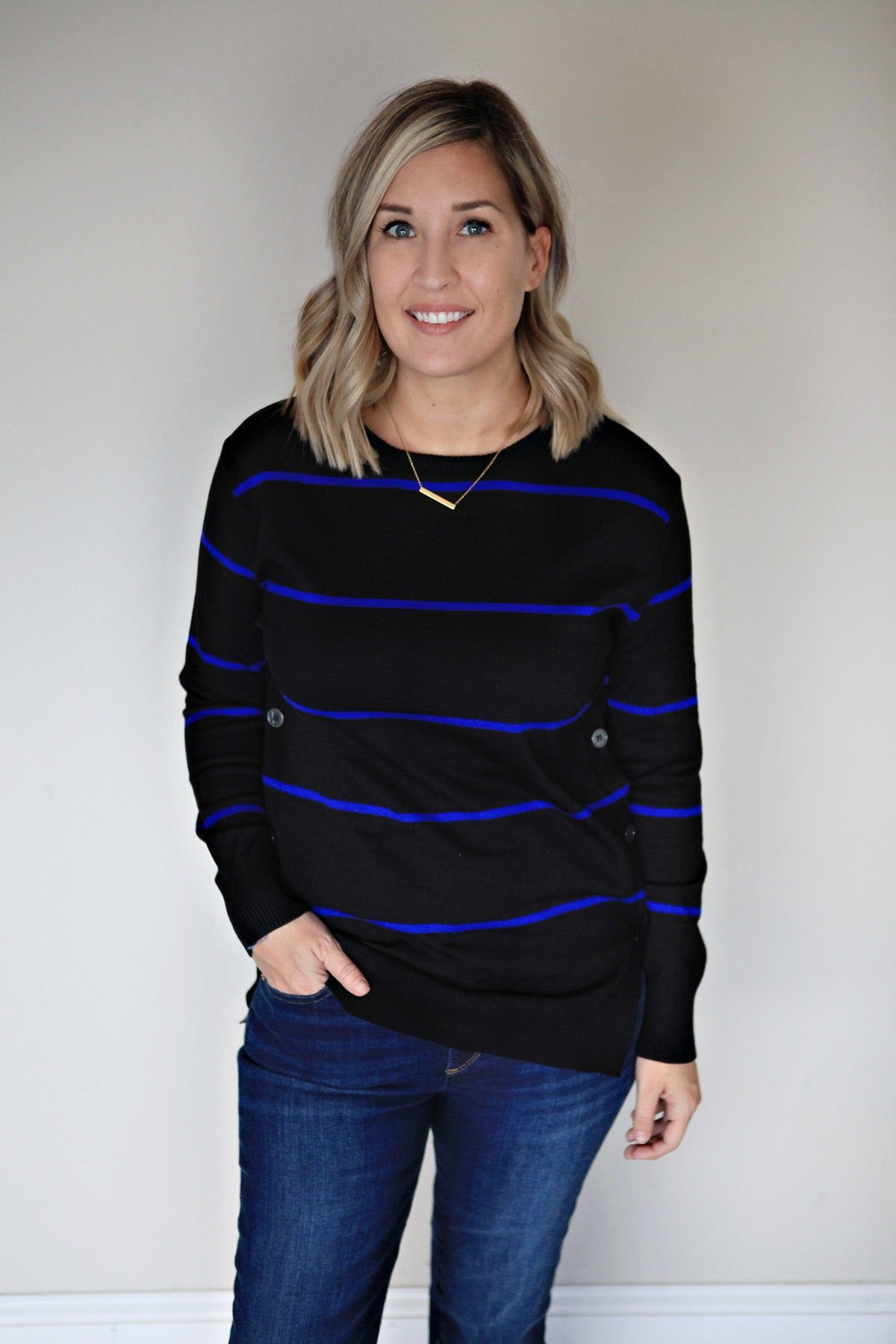 Piper Sweater - Gray Monroe
