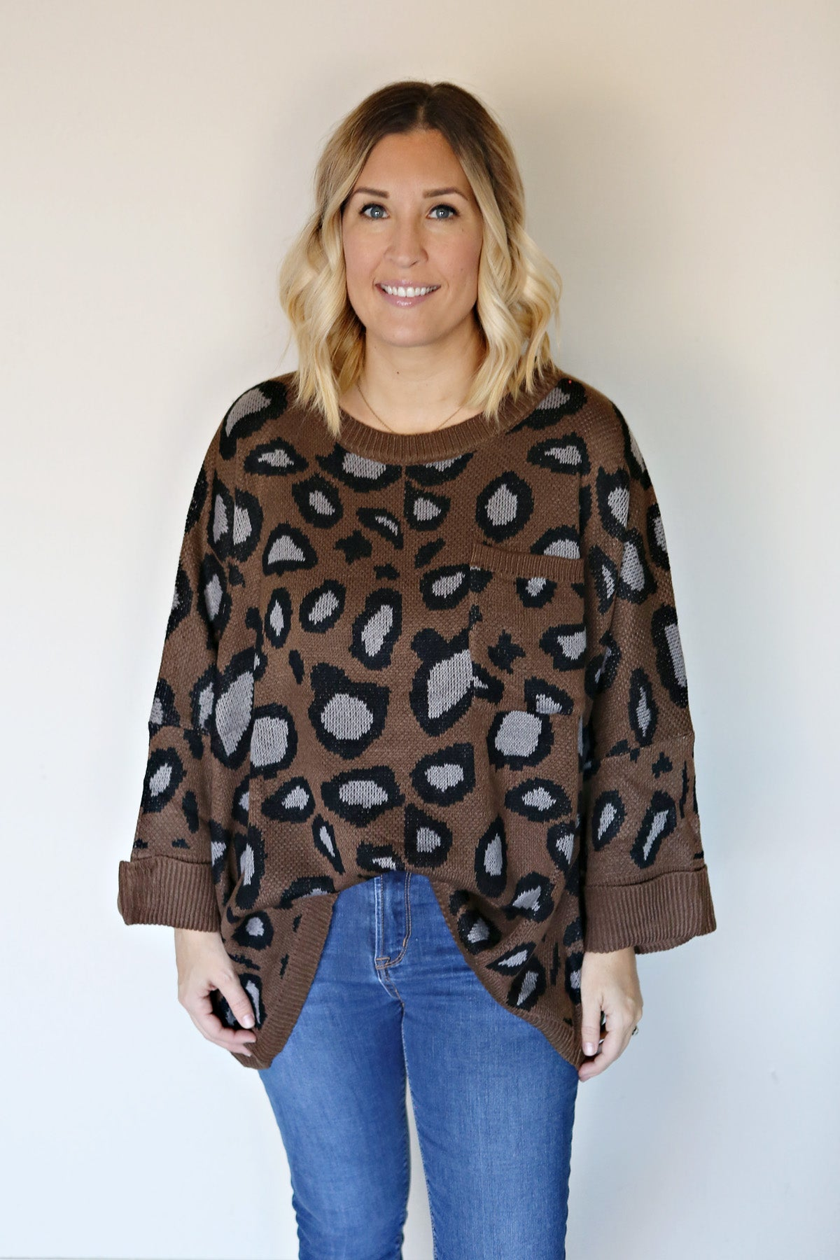 Archer Leopard Sweater