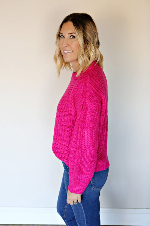 Theo Sweater - Pink