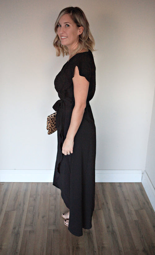 Wynn Dress - Black - FINAL SALE