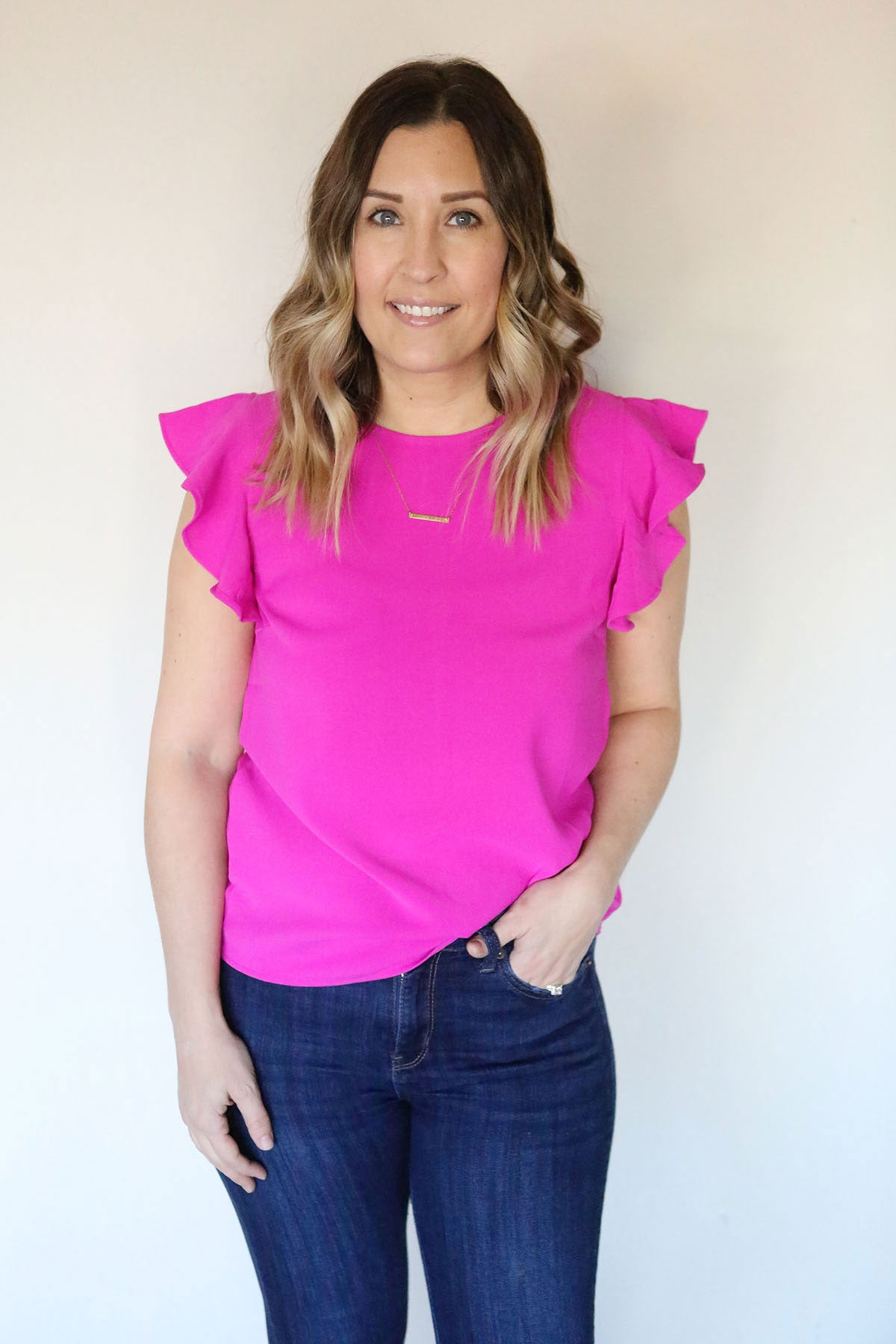 Jolene Top - Pink