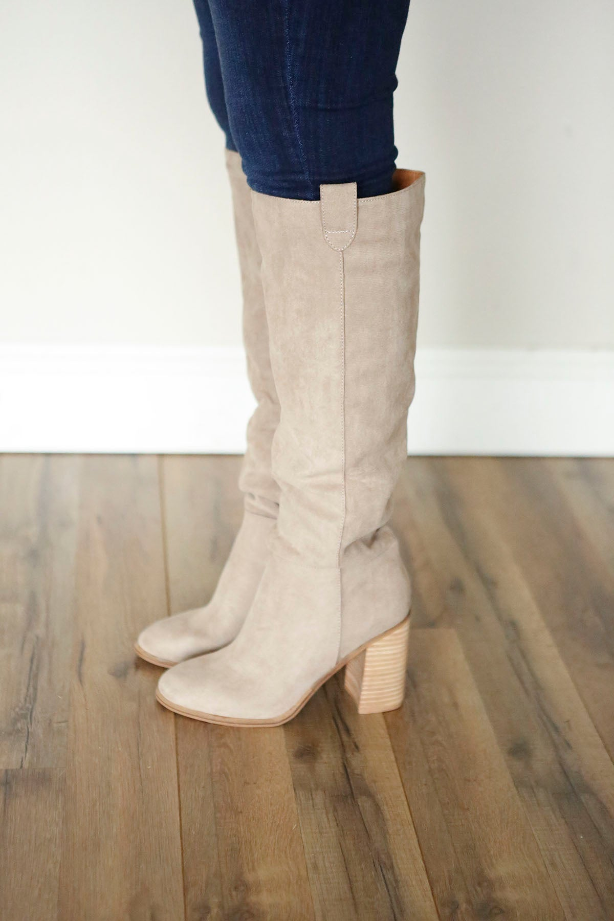 Saint Slouch Boots - Grey