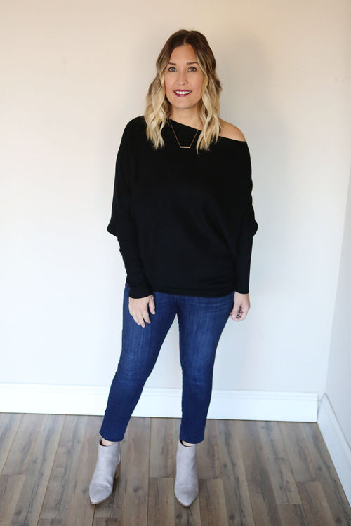 PRE-ORDER Noreen Sweater - Black