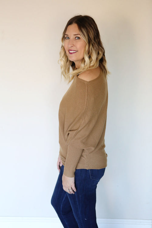 Noreen Sweater - Camel