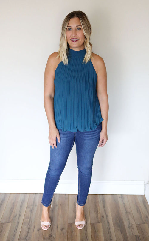 Sydney Top - Jade (TAKE 75% OFF WITH CODE 'FALLBREAK')