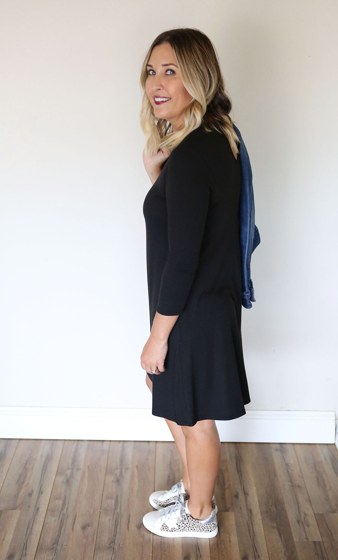 Deborah Dress - Black - FINAL SALE