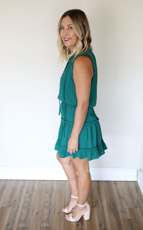 Kit Dress - Green