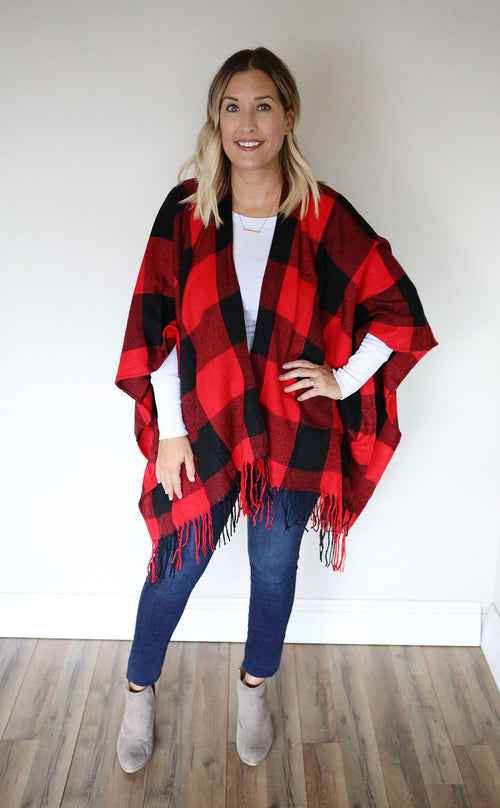 Emmy Poncho - Two Color Choices