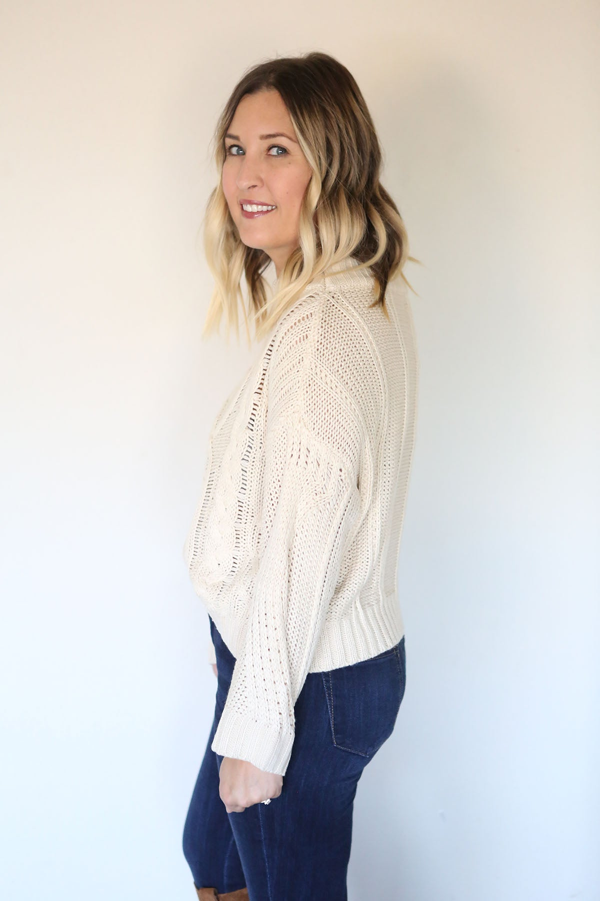 Campbell Sweater - Cream