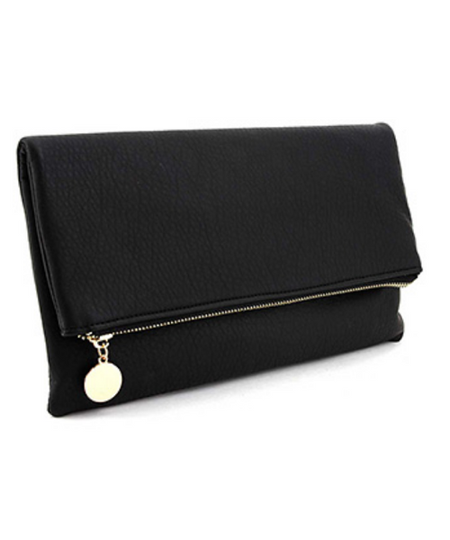 Amory Clutch - Black - Gray Monroe
