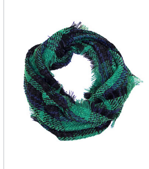 Canaan Scarf - Green - FINAL SALE - Gray Monroe