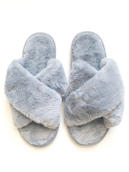 Criss Cross Slippers - FINAL SALE