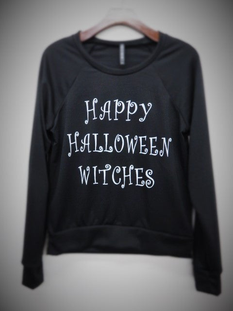 Happy Halloween Witches Sweater