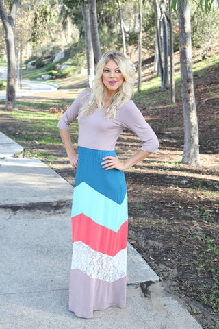 Sugar & Spice Maxi Dress