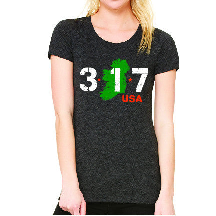 317USA Ladies' Comfort Tee