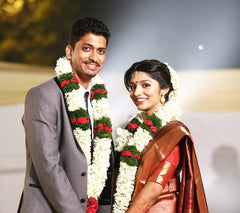Wedding pic - Aparna and Mathew