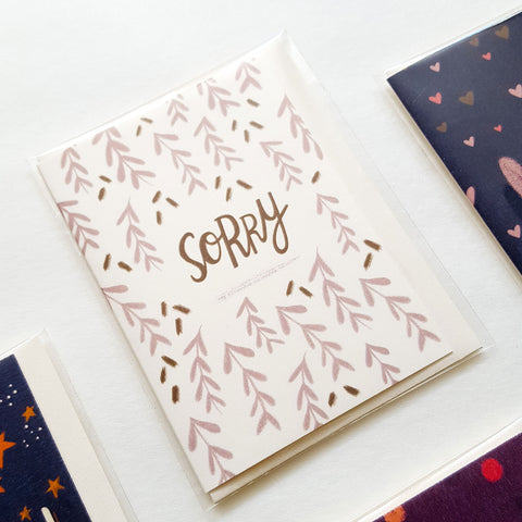 Sorry - Mini Card