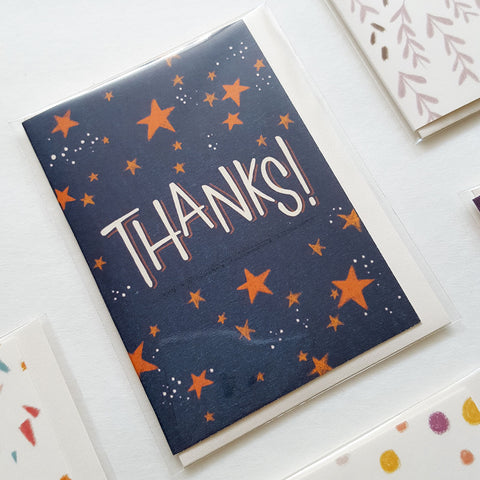 Thanks! - Mini Card