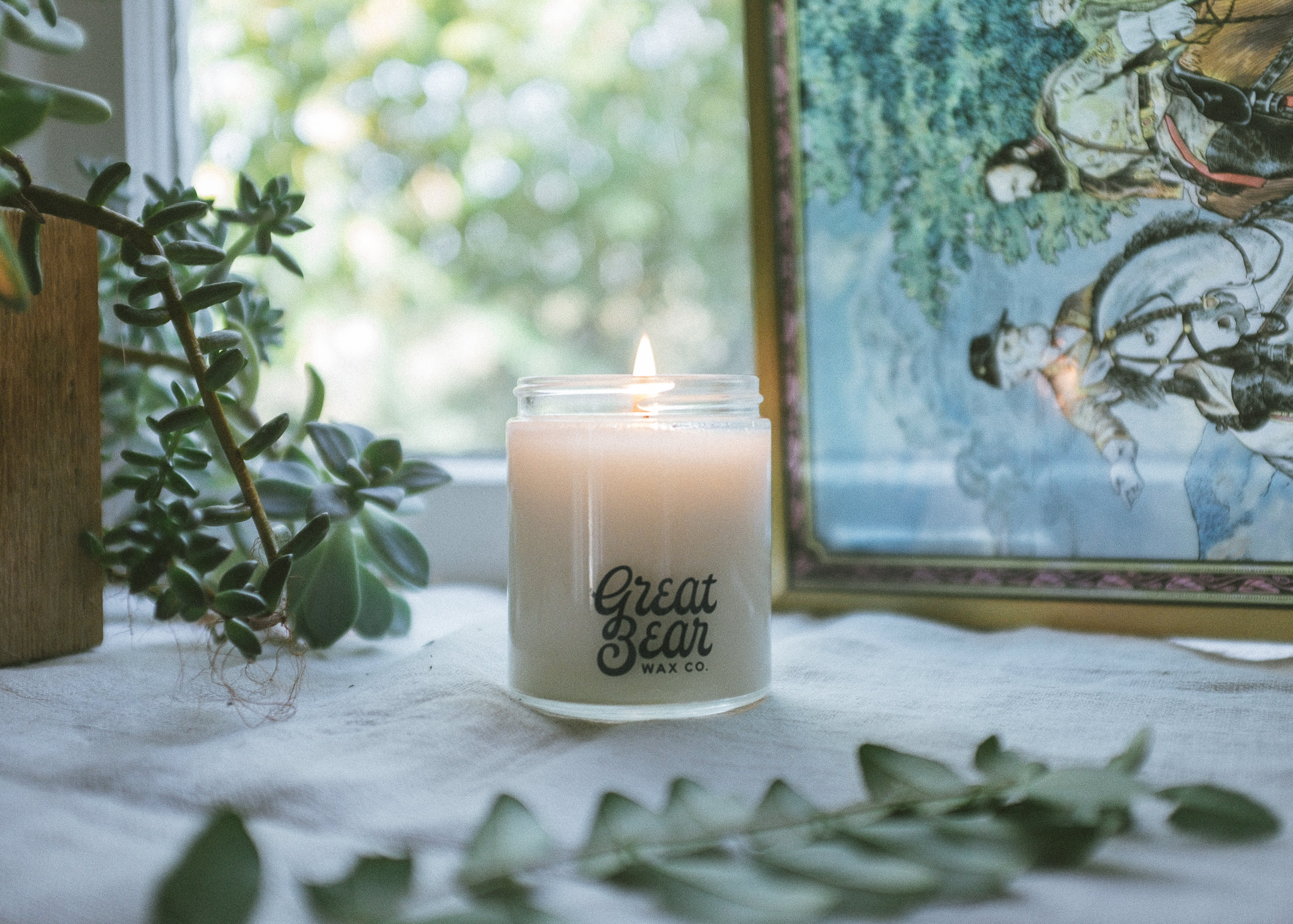 forest - 6oz candle *sample sale - old label