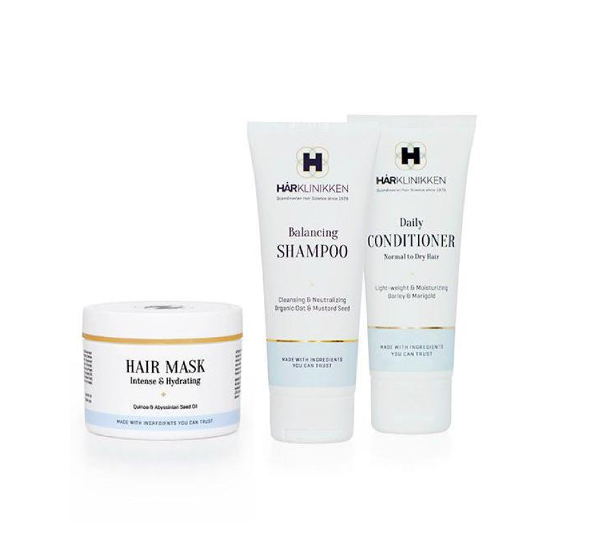 Travel Kit - Balancing Shampoo, Conditioner & Mask