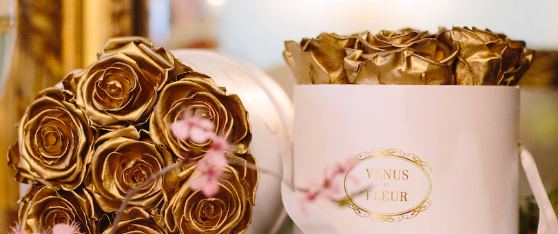 How a Wilted Bouquet Sparked a Romance & Business That Delivers Roses That Last All Year