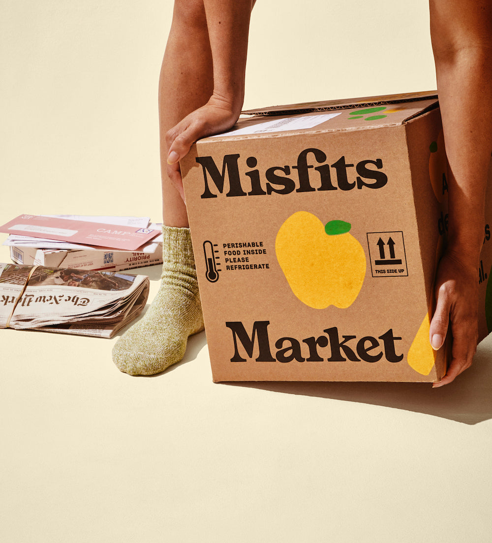 misfits market sustainable packaging