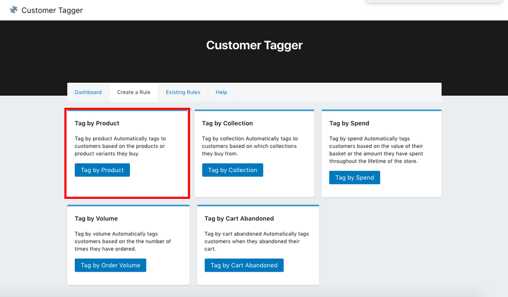 Use Customer Tagger to Automatically Tag Customers Who Buy Your Digital Loyalty Program Product