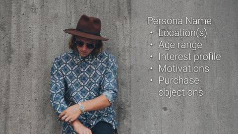 Customer persona template