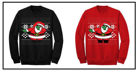 2 Chainz Dabbing Santa Sweater