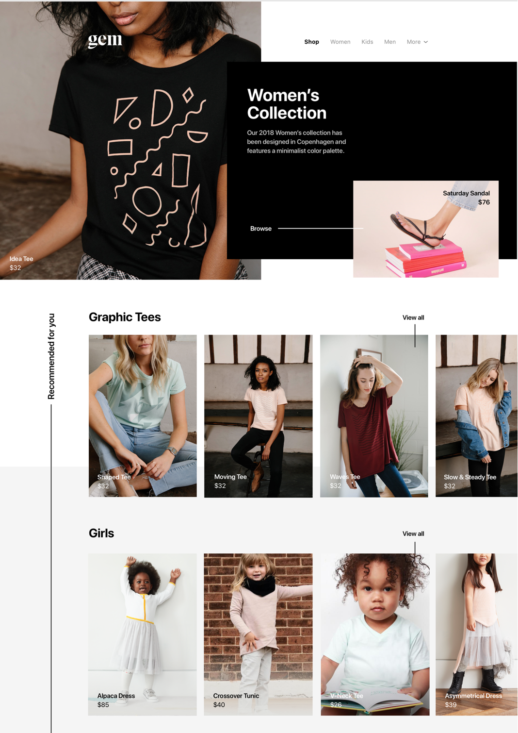 2fdee6dcf ... kind of personalization in the ecommerce fashion industry. For  instance, visitors who have either browsed or bought women's clothing  should experience a ...