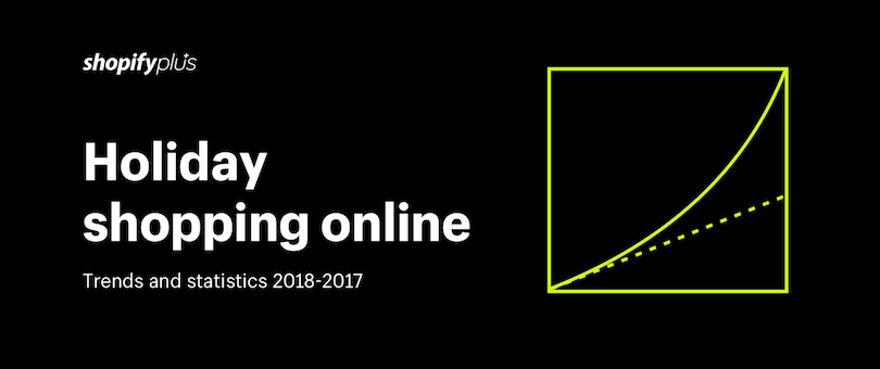 Holiday Shopping Online: Trends and Statistics 2017-2018 [Infographic]