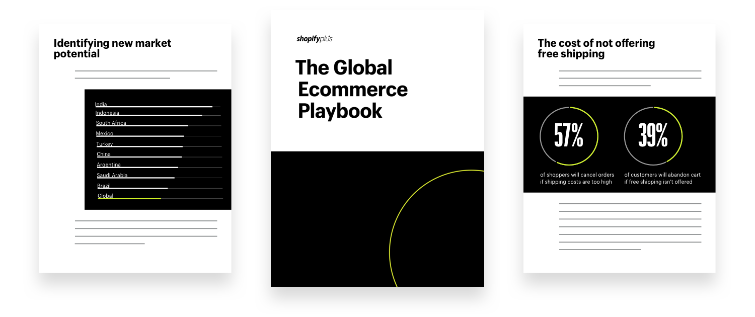 Sample pages from The Global Ecommerce Playbook