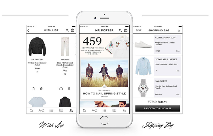 Omni-channel shopping in luxury ecommerce