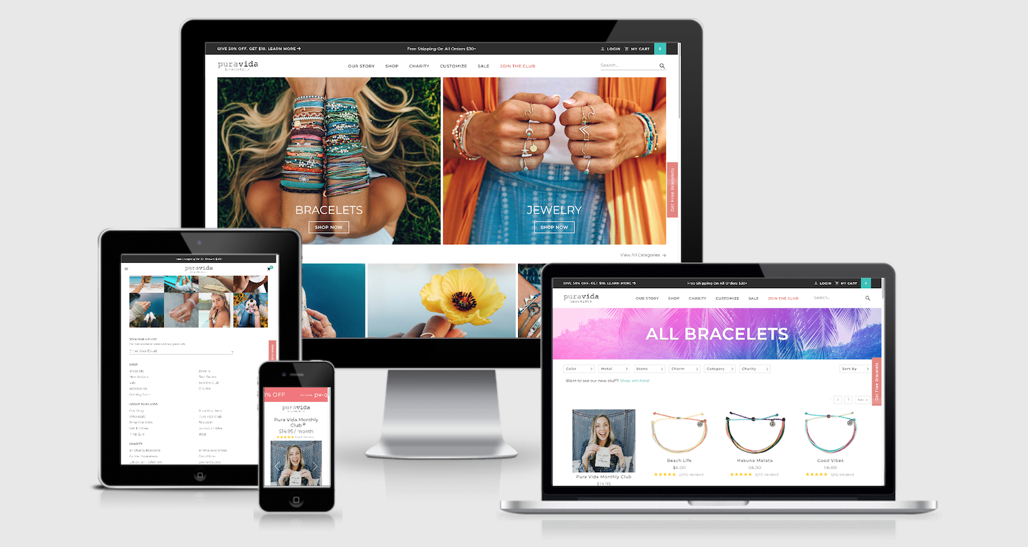 The best ecommerce tools help power Pura Vida's empire on Shopify Plus