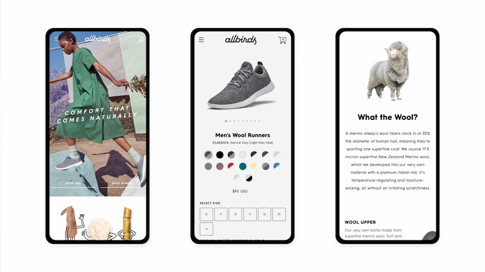 Allbirds app
