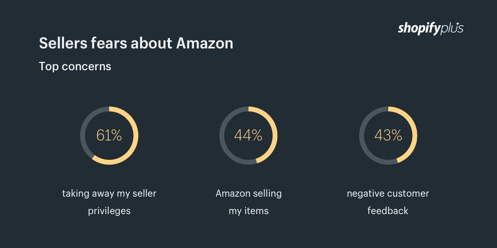 Sellers fears about Amazon