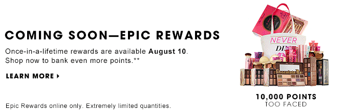 Sephora offers major rewards for customers who rack up the most points in their loyalty program