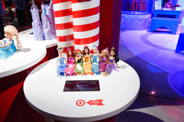 Target Wonderland RFID pop up shop