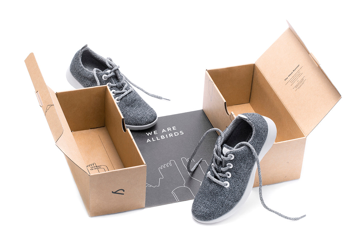 allbirds packaging - single box approach