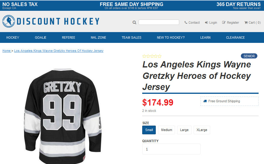 How Discount Hockey Lifted Mobile Conversions 26% And Uses Shopify Plus To Sell On & Off The Ice