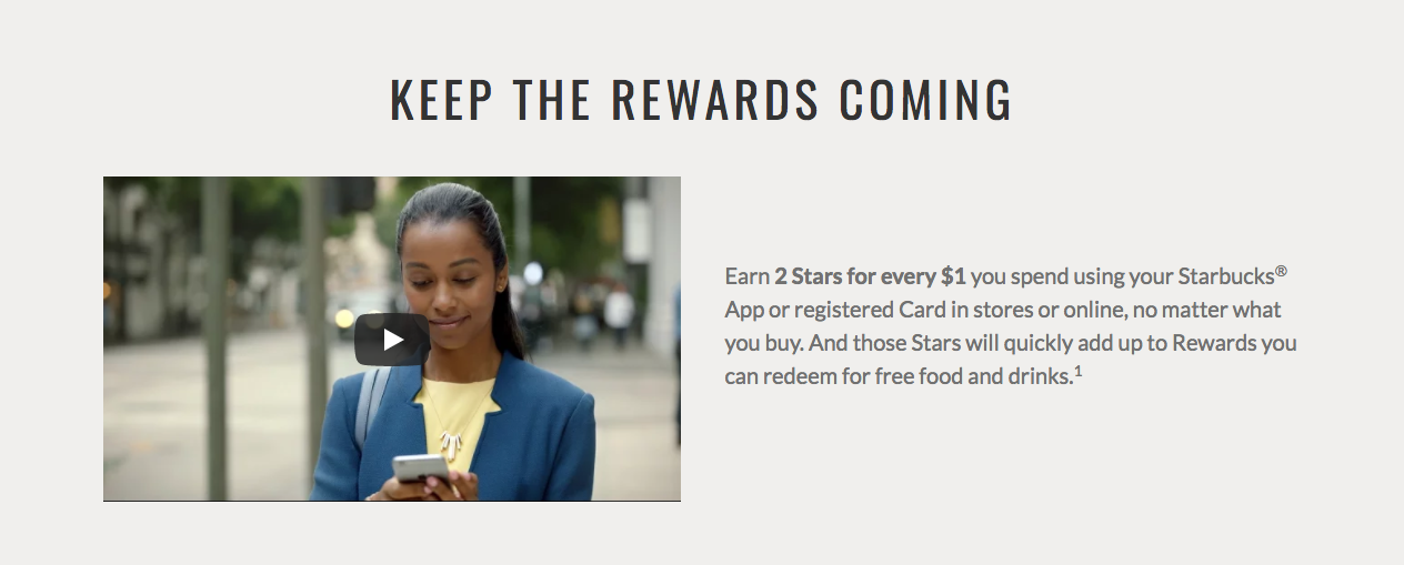 Starbucks: Keep the Rewards Coming