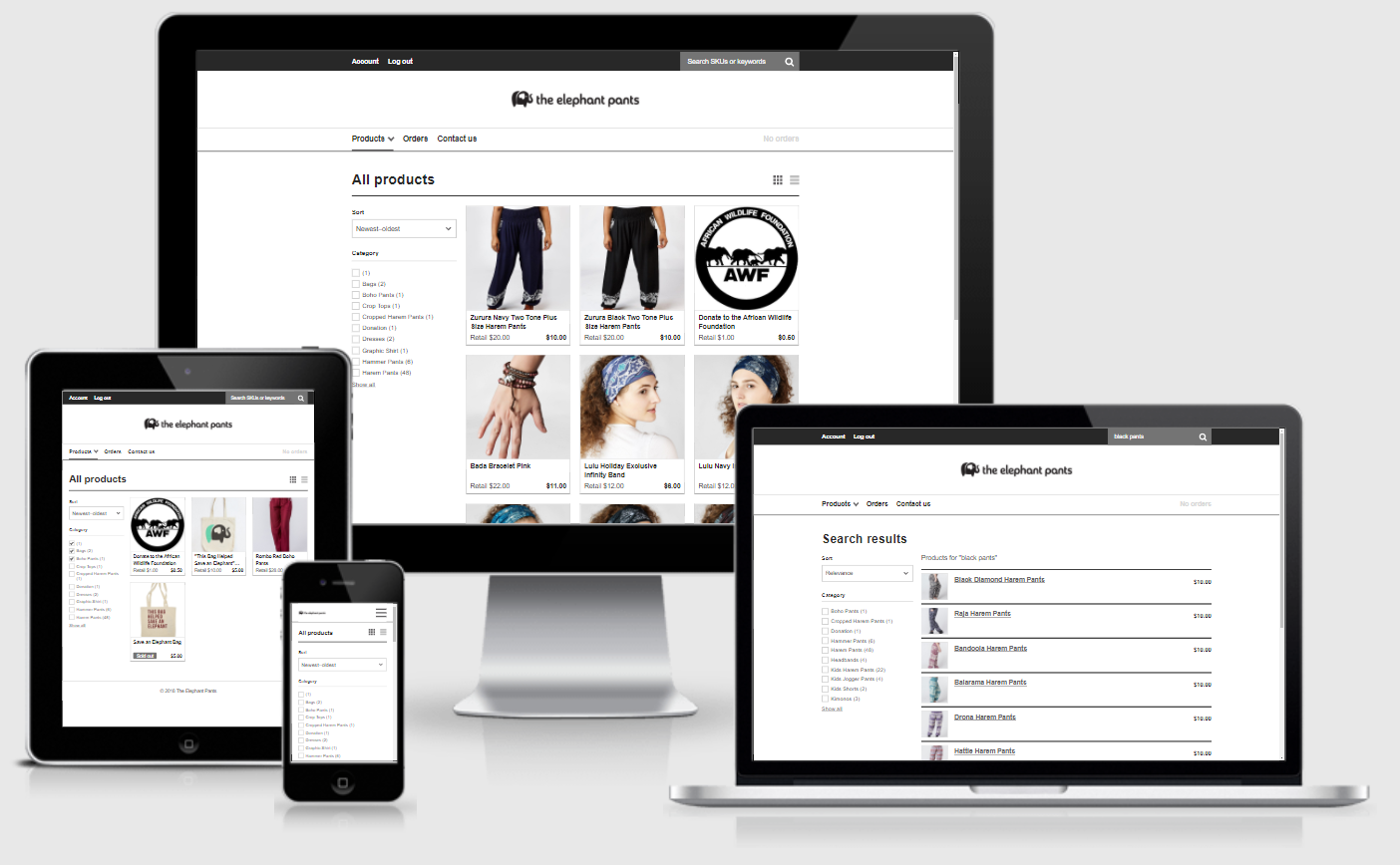 Mobile responsive design is a critical B2B ecommerce feature