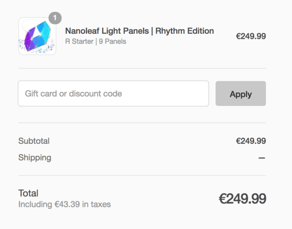 nanoleaf vat tax