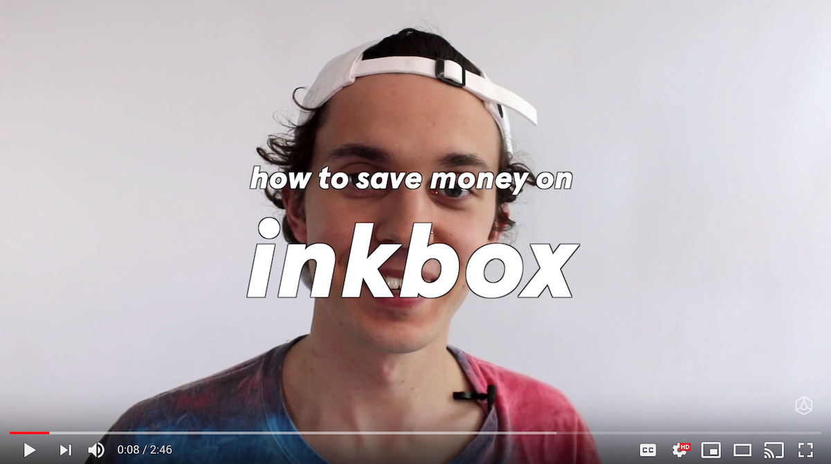 inkbox and inkfam on YouTube to build brand loyalty in ecommerce